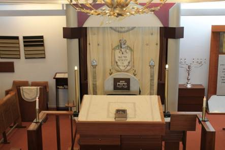2013 Interieur synagoge Cornelis Houtmanstraat - foto NIG