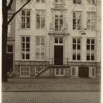 Joods Ziekenhuis op Prinsegracht 65, ca. 1900. (Collectie Haags Gemeentearchief)