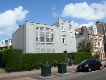 Voormalige synagoge aan de Harstenhoekweg 44 in Scheveningen