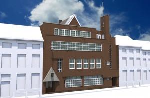 Nieuwe Molstraat 3D-reconstructie gebouw