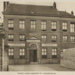 St. Jacobstraat 77. Israëlitisch Ouden Mannen en Vrouwenhuis, ca.1910
