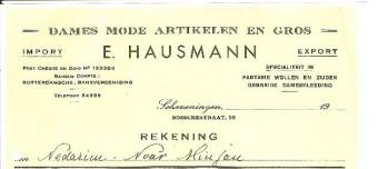 Bosschestraat 96 Damesmodezaak Hausmann