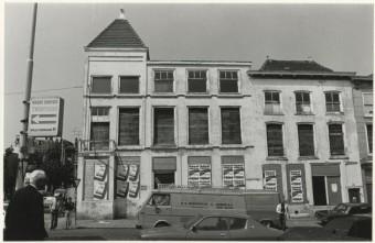 Omstreeks 1980 is het voormalige Hotel Kiek in Den Haag gesloopt, foto Paul Kempf -  collectie Haags Gemeentearchief