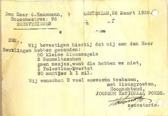 Harstenhoekweg 113 Gershon Hausmann had grote belangstelling voor het Zionisme