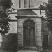 Portugees-Joodse Synagoge aan de Prinsessegracht - collectie Haags Gemeentearchief