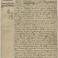 Akte van 3 mei 1905, waarmee de Haagse bankier Jacob Kann  de basis heeft gelegd voor de stichting van de stad Tel Aviv – Haags Gemeentearchief, archief notaris Louis Eikendal