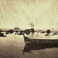 Haven van Jaffa in 1907 - foto Jacob Kann