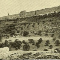 Jeruzalem in 1907 -  foto van Jacob Kann