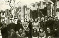 Klas 5 HBS B van het Joodsch Lyceum (1941-1942) - collectie www.haagsescholen.nl