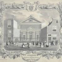 Grote Synagoge aan de Wagenstraat - collectie Haags Gemeentearchief