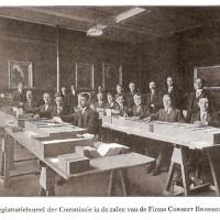 Het nationale kantoor voor de registratie van Belgische vluchtelingen in Den Haag in november 1914 – collectie Haags Gemeentearchief