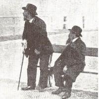 Belgische Joden in Scheveningen ca. 1916 - afbeelding in het tijdschrift Het Leven (13 juni 1916)