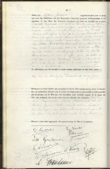 Trouwakte van Ida Rosenheimer en David Simons op 11 januari 1933 - Haags Gemeentearchief