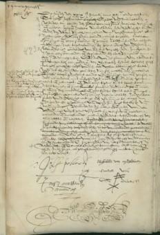 In maart 1618 vestigde Joseph Pallache zich als ambassadeur in Den Haag. Hij huurde een woning aan het Zuideinde (Wagenstraat) - Haags Gemeentearchief, bnr. 0372-01, inv. 6a, archief notaris Johan van Warmenhoven
