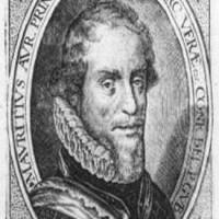 Prins Maurits was aanwezig bij de begrafenis van Samuel Pallache, de afbeelding is van ca. 1600 - collectie Haags Gemeentearchief