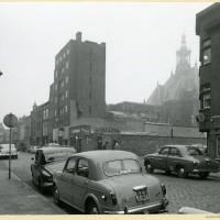 Winkel van Mouwes in 1959 - foto Dienst voor de Stadsontwikkeling, collectie Haags Gemeentearchief