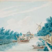 Rabbijn Azulai arriveerde in mei 1778 met de trekschuit in Den Haag - collectie Haags Gemeentearchief