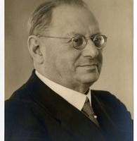 Salomon Frederik (Fred) van Oss, omstreeks 1940 - fotograaf Gustaaf Hisgen collectie HGA