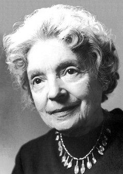 Nelly Sachs in 1966 -  www.nobelprize.org