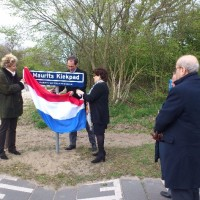 Onthulling Maurits Kiekpad op 29 april 2015