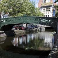 Gietijzeren brug bij Boomsluiterskade in 2010 -  foto Bart Mellink Dienst Stedelijke Ontwikkeling