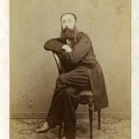 Mauritz Verveer, zelfportret van de fotograaf
