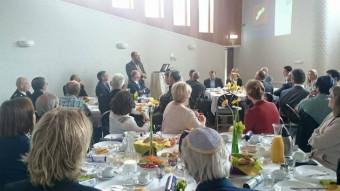Presentatie van rabbijn Shmuel Katzman in het Chaj-centrum op 9 juli 2015