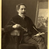 Salomon Verveer, omstreeks 1870 - foto Mauritz Verveer