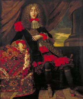 Portret van Francesco Lopes Suasso ca. 1690 - collectie Joods Historisch Museum