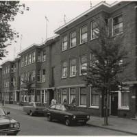 Capadosestraat, vernoemd naar de Joodse arts en letterkundige Abraham Capadose, op last van de Duitse bezetter moest de naam van deze straat in 1943 worden vernoemd - foto Paul Kempff