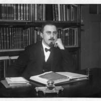 Opperrabbijn Isaac Maarsen, omstreeks 1925 - collectie Haags Gemeentearchief