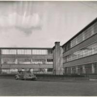 Fabriek van Gazan in de Waldorpstraat omstreeks 1936 - foto Dienst Stadsontwikkeling en Volkshuisvesting