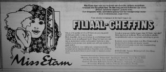Advertentie in De Telegraaf op 16 september 1978