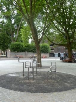 Joods Kindermonument op het Rabbijn Maarsenplein - foto 2013