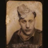Ies Bachrach als militair, ca. 1945