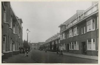 Maastrichtsestraat in Scheveningen in augustus 1941 - foto H.A.W. Douwes