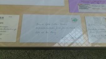 Een aantal bewoners van de Maastrichtsestraat gebruikt de naam Deportatie van de Zestien Joodse Families Straat nog steeds bij briefwisselingen - december 12015 tentoonstelling stadhuis Den Haag