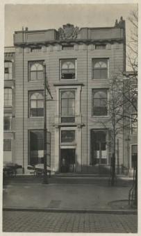 Amsterdamse Veerkade 14, omstreeks 1915 - fotocollectie Haags Gemeentearchief