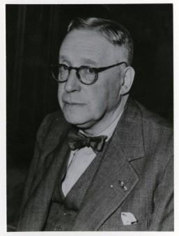 Prof. mr. A.C. Josephus Jitta, gemeenteraadslid van 1923-1936 - collectie Haags Gemeentearchief