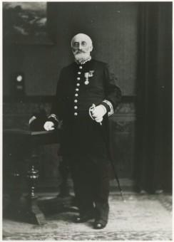 Wethouder Jacob Simons, ca. 1900 - collectie Haags Gemeentearchief