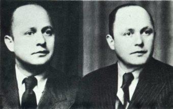 Curt Hirschberg (links) en Erwin Hirschberg - www.Joods Monument .nl